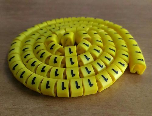printed cable marking ferrules