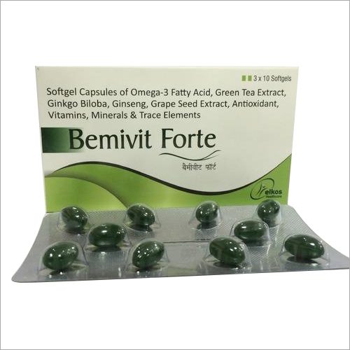 Antioxidant Softgels Capsules
