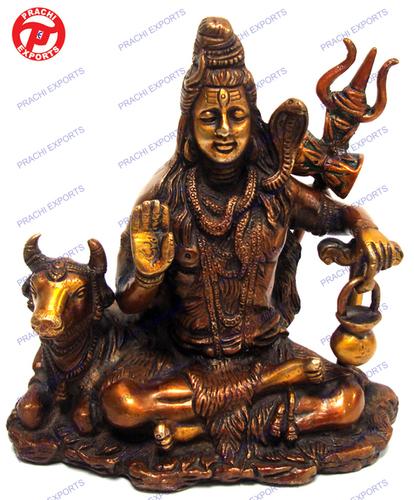 Shiva Sitting W/ Nandi