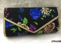 Stylish Designer Floral Printed Clutch Bag