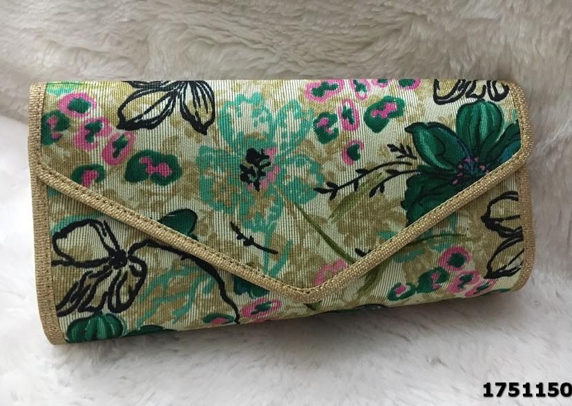 Stylish Designer Floral Printed Clutch Bag