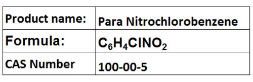 Para Nitrochlorobenzene