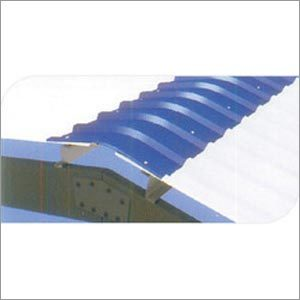 Plain Ridge Corner Flashing Sheet