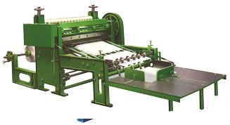 High speed Gear Type Rotary Sheet cutting Machine