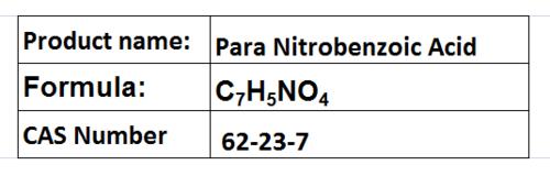 Para Nitrobenzoic Acid