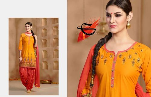 Shop Embroidered Readymade Suit Online