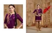 Buy Embroidered Patiyala Salwar Kameez Online