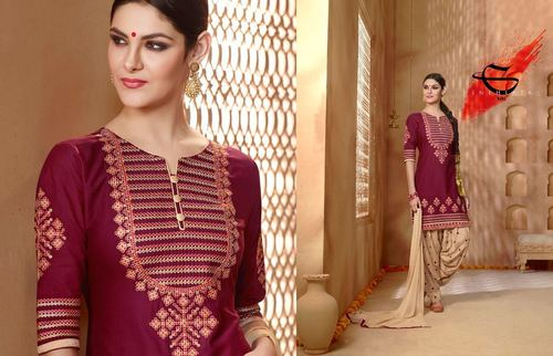 Buy ReadyMade Patiyala Suit  Online