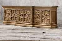 Wooden Living Room Sideboard