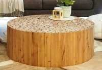 Round Center Coffee Table