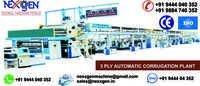 Automatic Corrugation Plant 3 Ply Unit