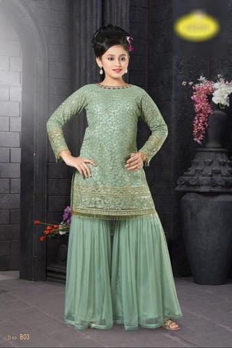 Indo Western Lehenga Choli Design For Girls