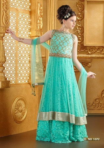 Long Kameez With A Lehenga