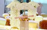 Crystal Umbrella Centerpiece For Wedding Table