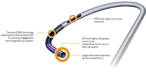 PTCA Guiding Catheter- Hertrail II