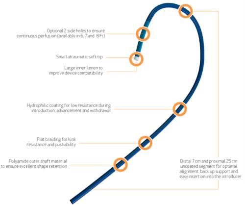 PTCA Guiding Catheter- Climber