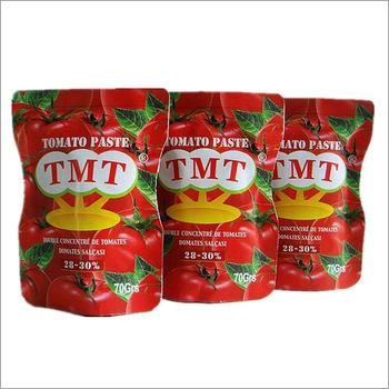 70g Standing Sachet Tomato Paste