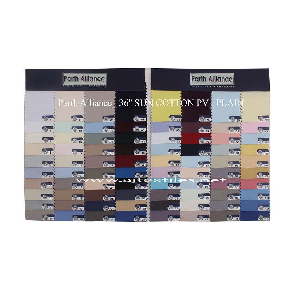 Plain Poly Viscose Shirting Fabric