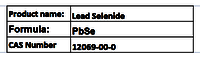 Lead Selenide