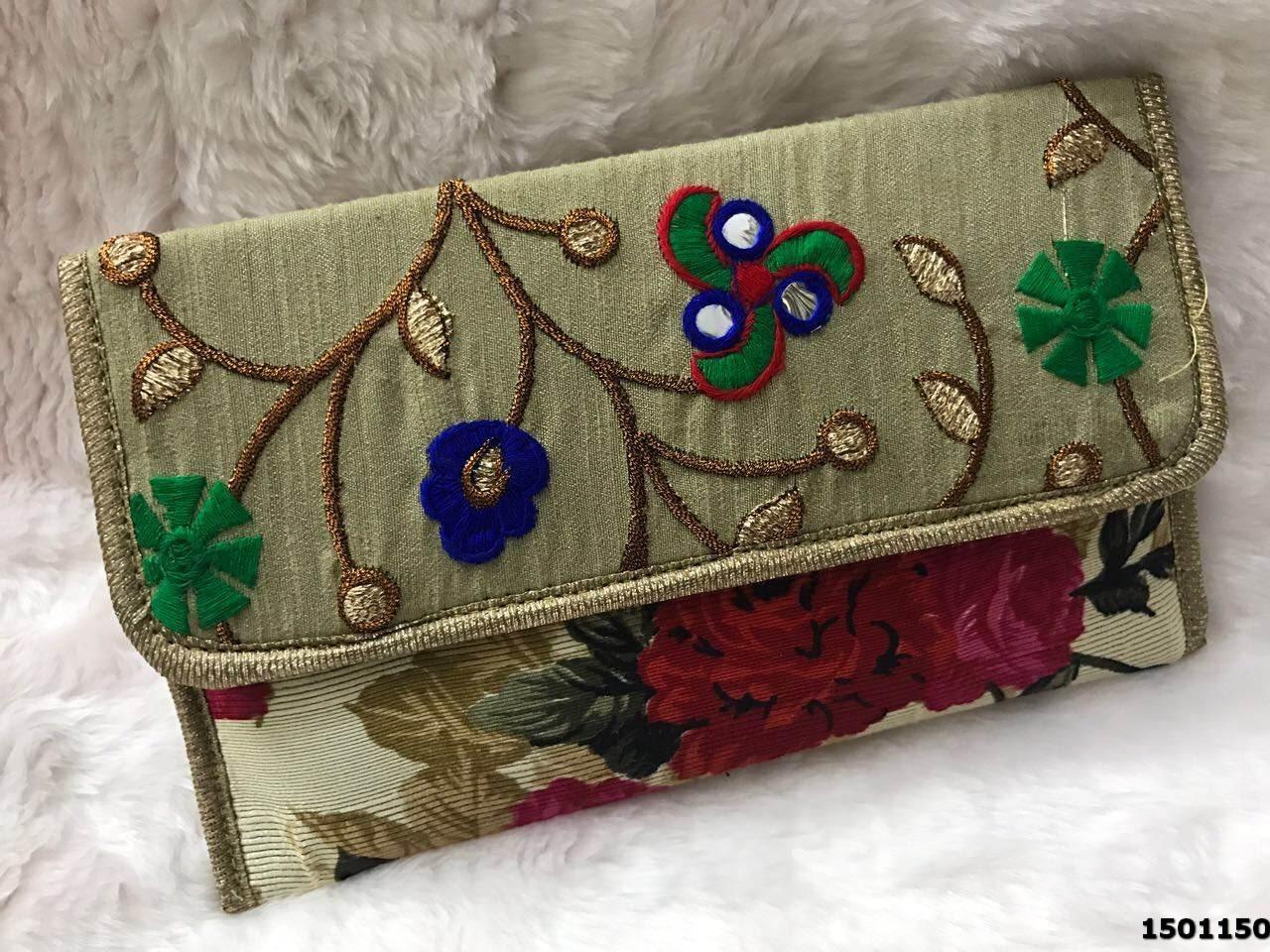 Adorable Ethnic Clutch Bag