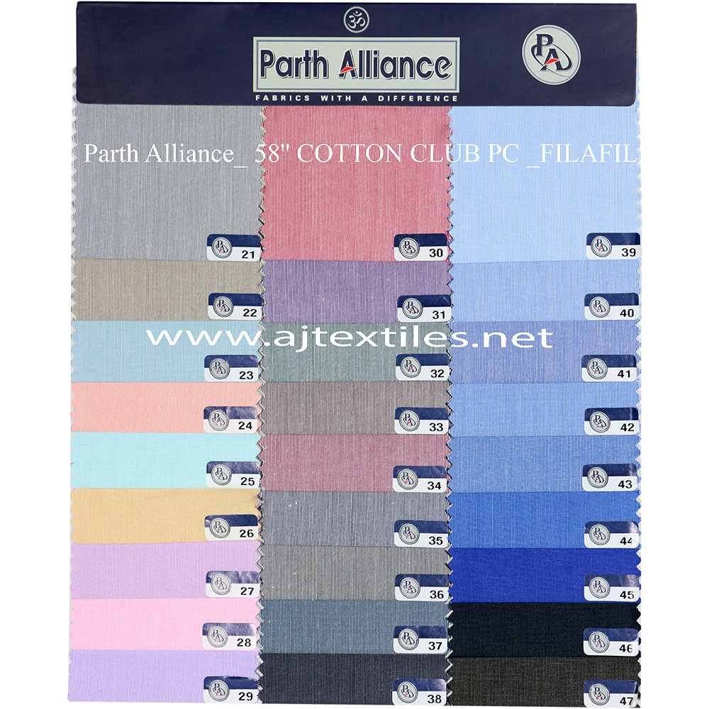 Medium Filafil Shirting Fabric
