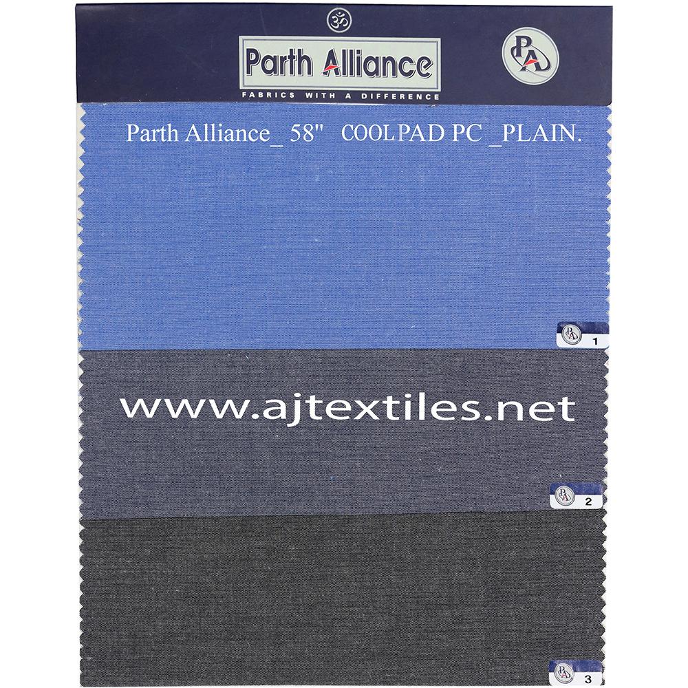 Plain Chambray Shirting Fabric