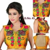 Embroidered Kutchi blouse