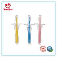 Silicone Rubber Baby Chewing Toothbrush Food Grade