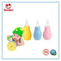 Safety Baby Nose Suction Silicone Nasal Aspirator For Infant
