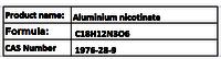 Aluminium nicotinate