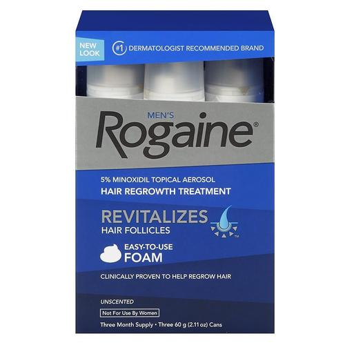 Rogaine Non Perfumed 600 ml*3