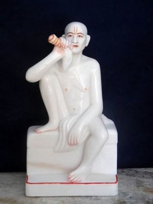 Marble Human Sitting Statue