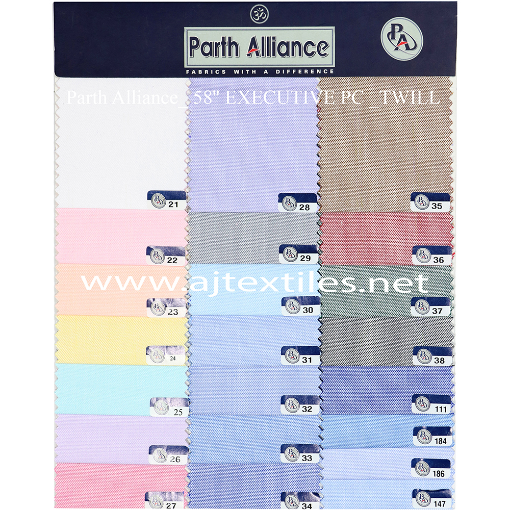 Twill Chambray Shirting Fabric