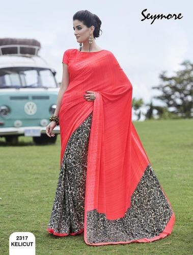 Fancy Printed Saree (New Catalog SAAWARIYA)