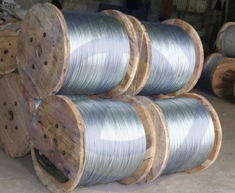 Galvanized strands