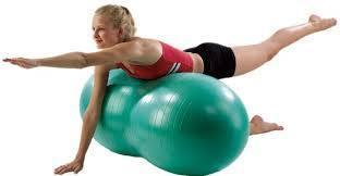 Peanut Shape Exercise Therapy Ball