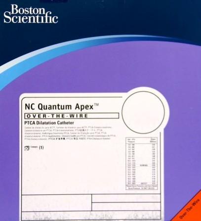 NC QUANTUM APEX OTW PTCA Balloon Catheter