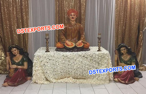Rajasthani FRP Fiber Statues