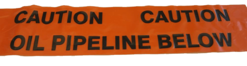 Oil Pipeline Warning Mesh