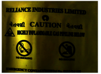 RELIANCE WARNING MESH