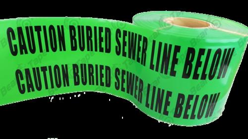 SEWAR LINE PVC WARNING MESH