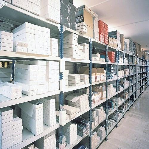 Warehouse Slotted Angle Racks