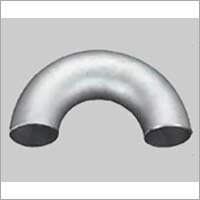 Duplex Steel 180 Degree Long Radius Elbow