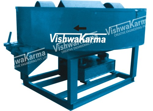 Pan Roller Mixer Machine