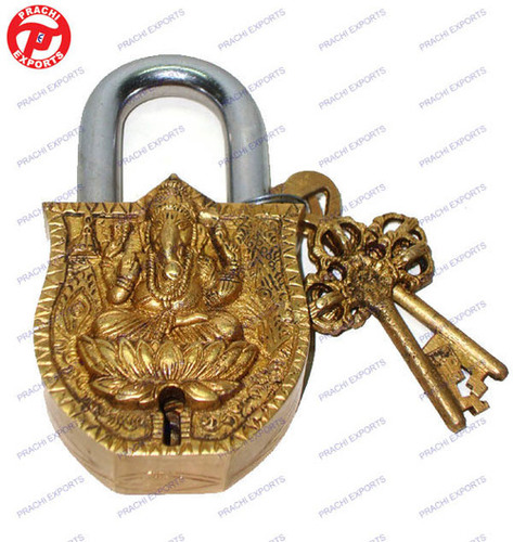 Lock W/ Keys Ganesh Design