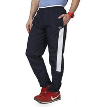 Mens Nevy & white Trackpant