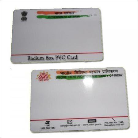 Pre Printed PVC Aadhar Card