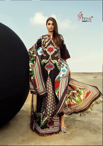 Fancy Cotton Salwar Kameez Suit