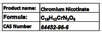 Chromium Nicotinate