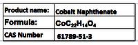 Cobalt Naphthenate
